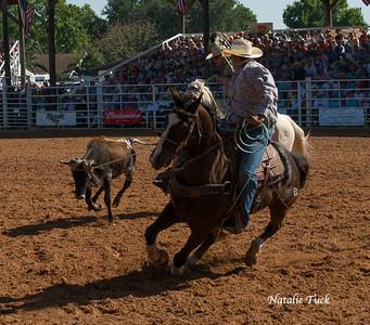 Rodeo, calf roping