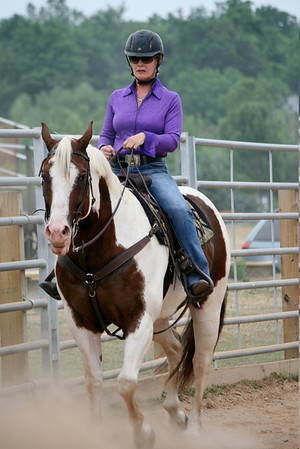 All Western Green Horse Classes