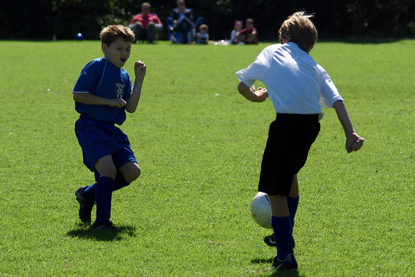 My Son's Soccer Game Oct 2, 2010