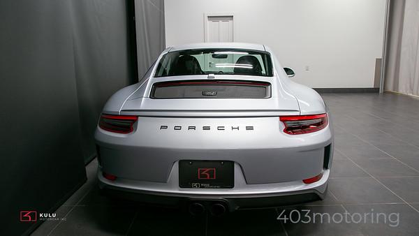 '18 911 GT3 Touring - Rhodium Silver