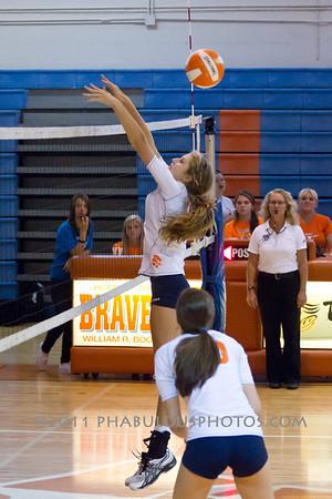 Dr. Phillips @ Boone Girls JV Volleyball - 2011