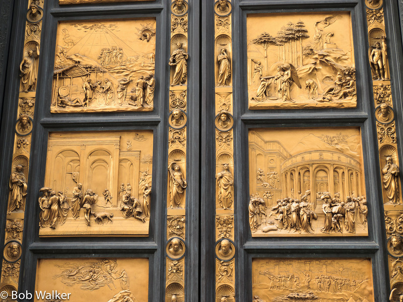 Door of the Baptistry