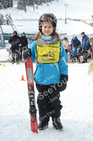 Tiny Tots Ski School 2-2-13