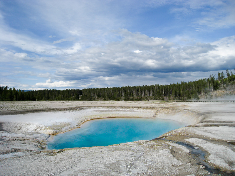 Turquoise Pool at Midway Geyser Basin