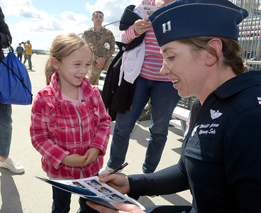 Thunderbirds meet Make-A-Wish kids in special event