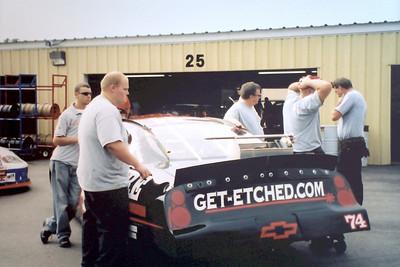 NASCAR Busch North Race @ NHIS 9-16-2005