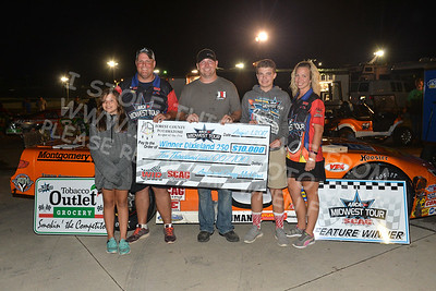 "ARCA Midwest Tour ""Forest County Potawatomi Dixieland 250"" Victory Lane"