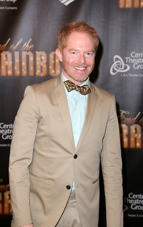 Actor Jesse Tyler Ferguson poses during the arrivals for the opening night performance of