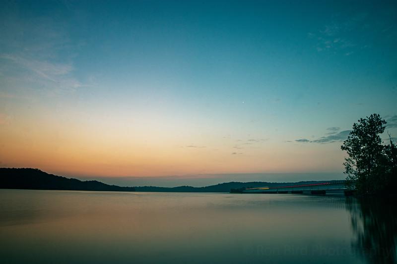 12 Bridge this a.m. with Venus softly rising.