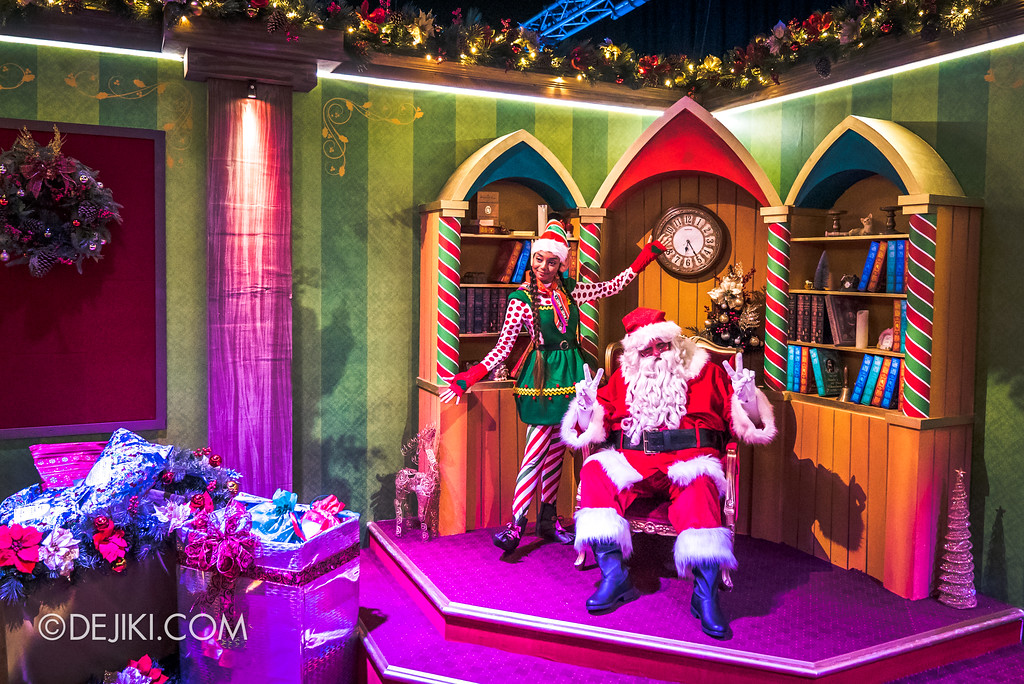 Universal Studios Singapore - A Universal Christmas event 2017 / Santa's Workshop Santa's Grand Finale Room