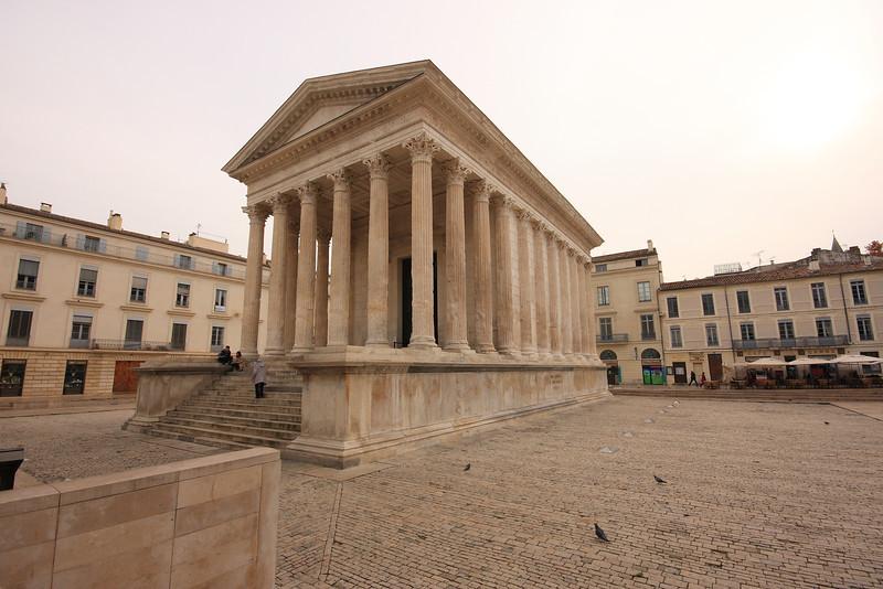 Maison Carrée, Arles  - Roman Temple 16 BC
