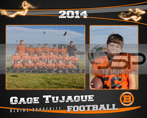 2014 Blaine Boys & Girls Club Jr Tackle Football
