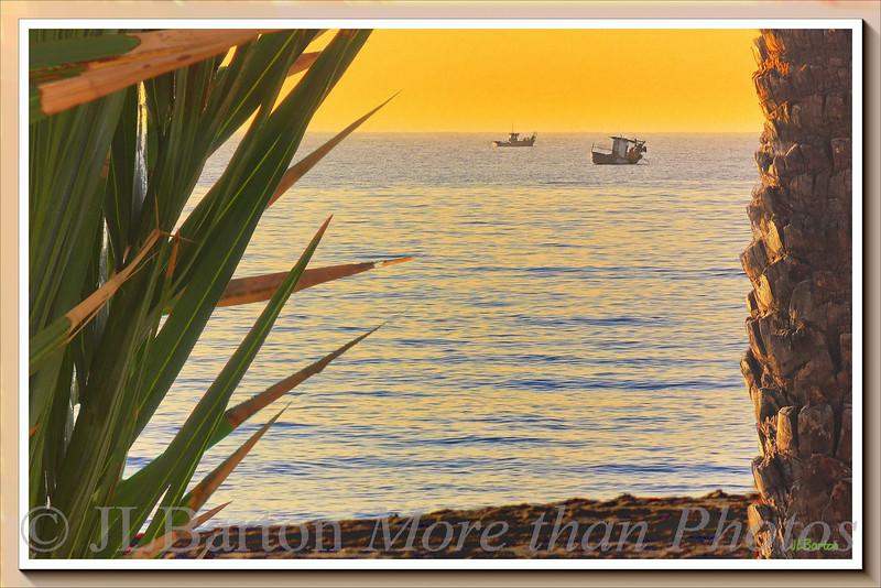 Morning Fishing off the coast of Torremolinos