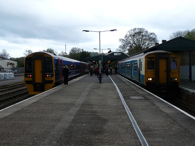 Templecombe, Yeovil, Castle Cary & Exeter St Thomas (30-04-2010)