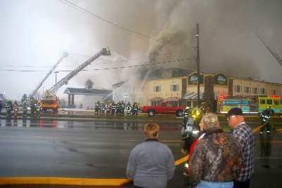 Comfort Inn Fire, November 2008