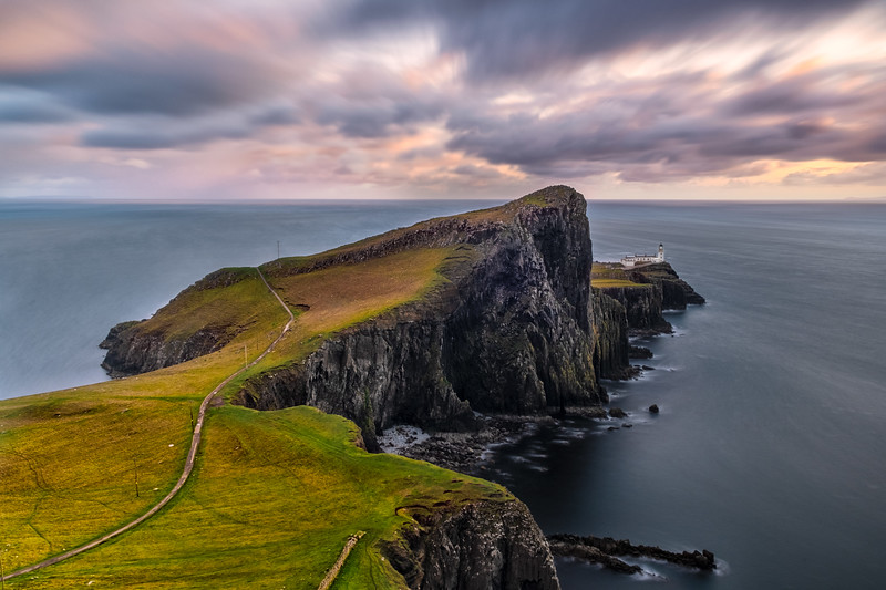 Neist point by sunset