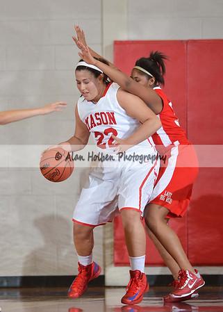 Girls Varsity Basketball - Sexton at Mason