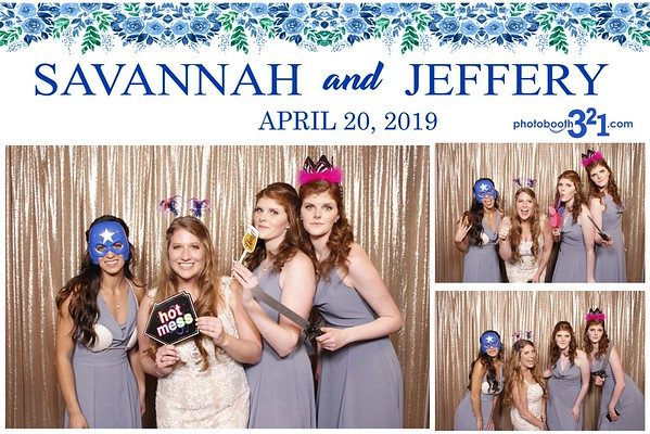 Savannah and Jeffery Wedding 2019