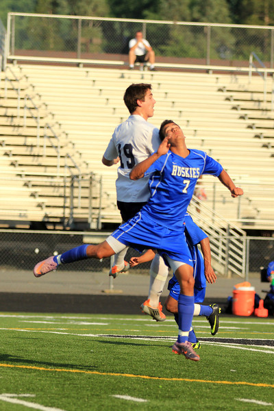Fluvanna vs. Tuscarora boys soccer 2011