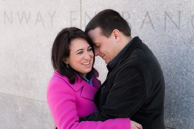 MFA Boston Engagement Photos: Caitlin & Ricky