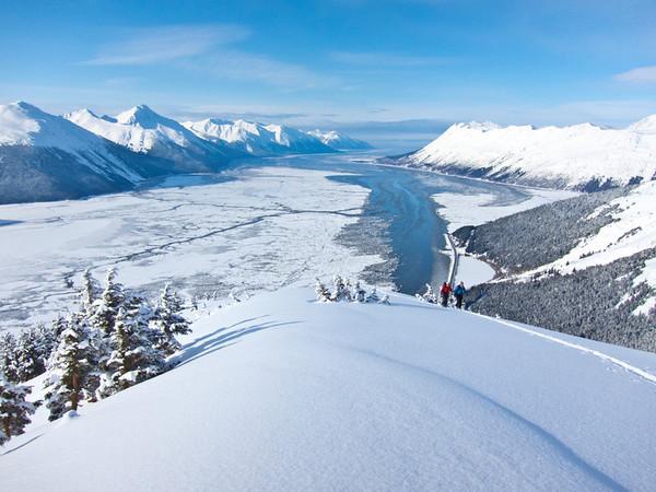 Turnagain and Hatcher Pass skiing
