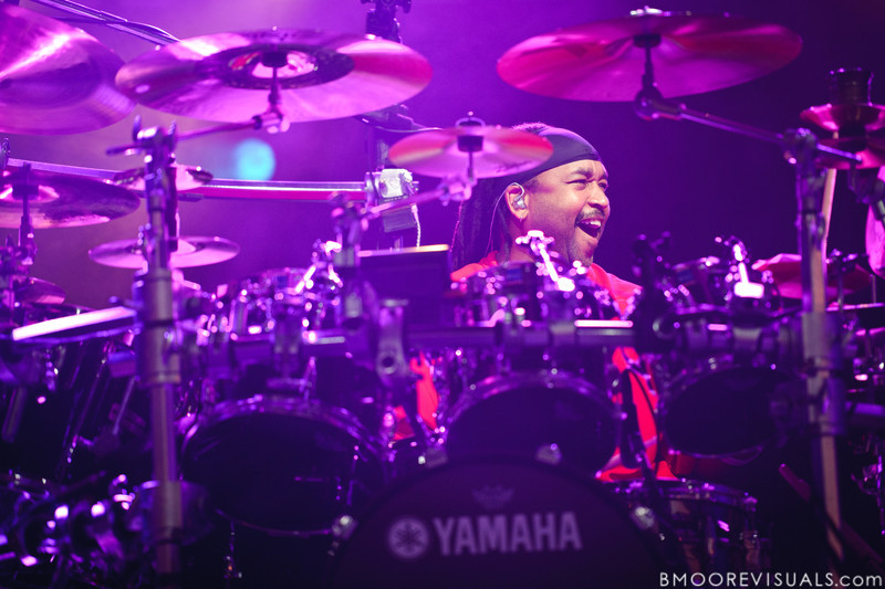 Carter Beauford of Dave Matthews Band performs on July 28, 2010 at 1-800-ASK-GARY Amphitheater in Tampa, Florida