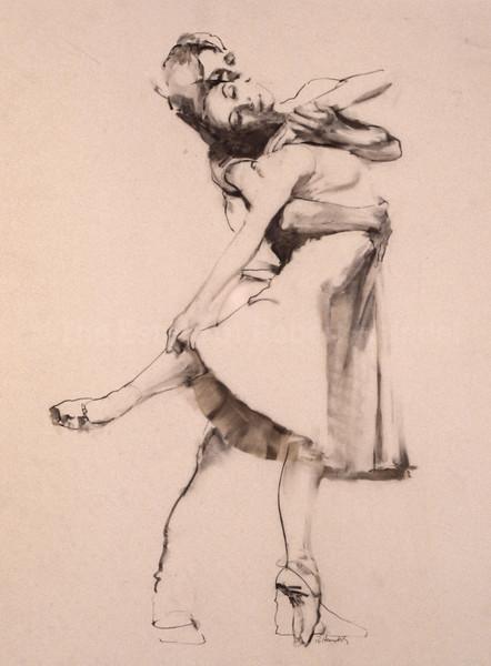 Ballet #257 - Study (c1980s)