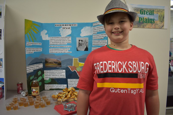 Third Grade Tour Around Texas