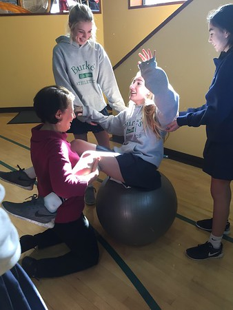 Upper School Adaptive P.E. Class | January 20, 2017