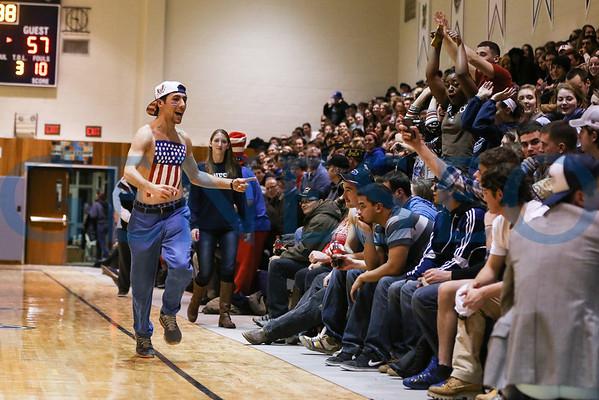 Men's Basketball & Honoring Veterans Ceremony