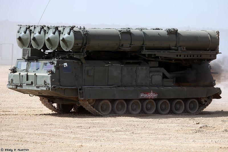 Пусковая установка 9А83 ЗРС С-300В (9A83 TELAR S-300V system)