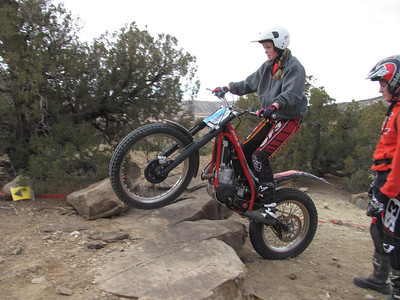 NMTA Trials Event at San Ysidro Trials Area  2-10-13