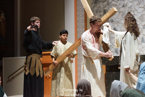 March 2018- St Peter's Life Teens present the Living Stations of the Cross