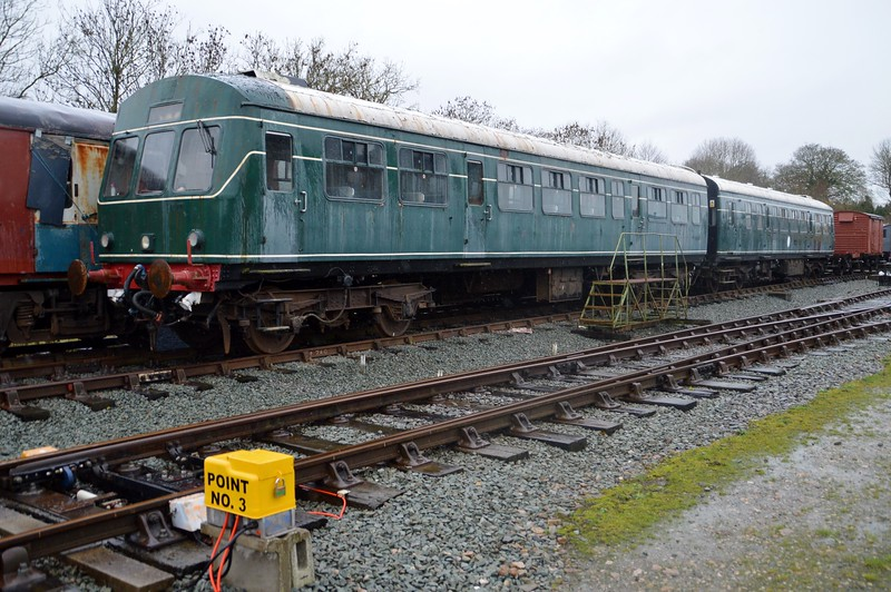 Class 101 DMU W56055 DTCL   28/11/15