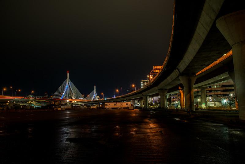 Bend to Zakim Bridge