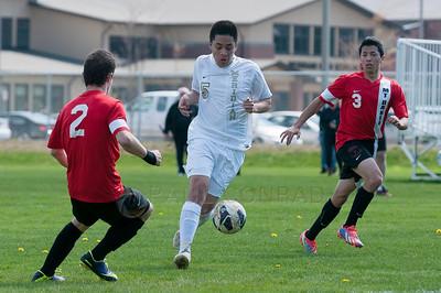 MBHS v MHS boys Soccer 140412