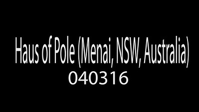 Haus of Pole (Menai, NSW, Australia) 040316