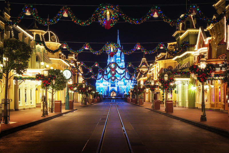 Main Street at Christmas