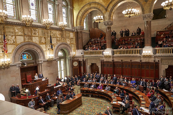 NY State Senate Opening Session