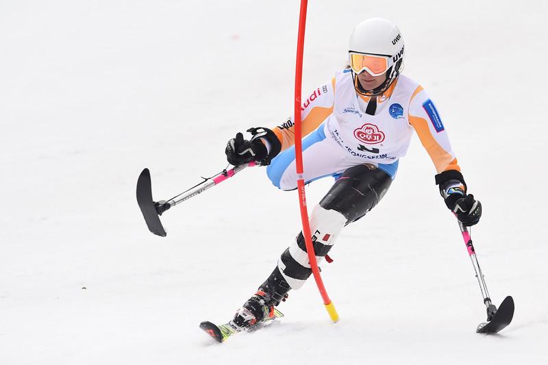 18-3-2017 SKIEN: 2017 WORLD PARA SKIEN WORLD CUP FINALS: PYEONGCHANG Anna Jochemsen. Slalom. Foto: Mathilde Dusol