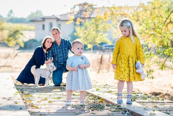 Merridith & John Family 2018