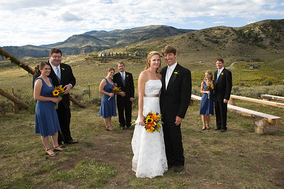 Wedding album: Sara and Cary at Lost Creek Ranch in Silverthorne