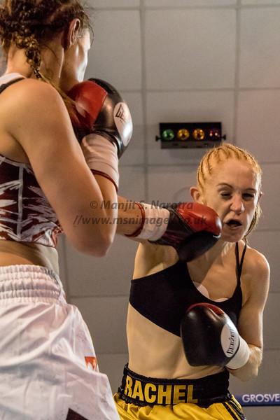 Bout 2. Rachel Ball vs Bojana Libiszewsk