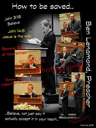 Ben L, Preaching  030815