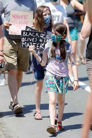 Black Lives Matter Protest in North Adams-062020