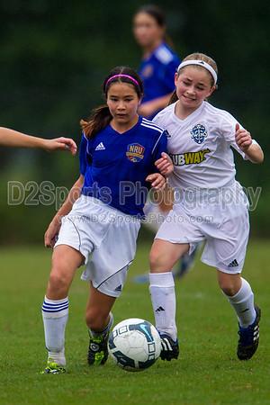 01 NRU GIRLS BLUE vs TCYSA U13 LADY TWINS RED 8/17/2013