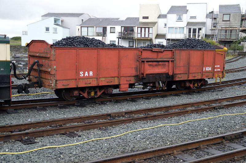 Wagon B1834 at Porthmadog on The Ffestiniog Railway  22/08/15.
