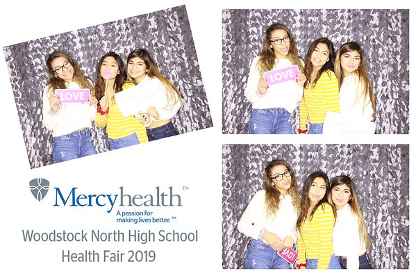 "Mercyhealth ""Woodstock North High School Health Fair 2019"""