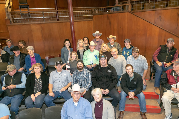 Mr. Sid McQuary's 100th Birthday at Milam County Livestock