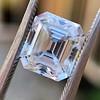 3.10ct Vintage Emerald Cut Diamond, GIA H VS1 22